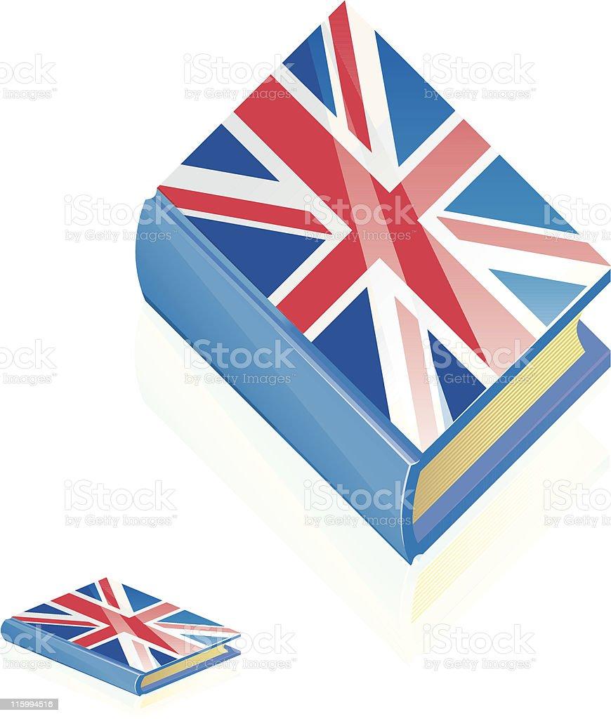 British Book Icon royalty-free stock vector art