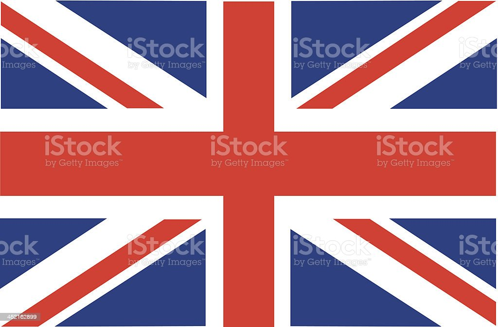 British flag vector art illustration