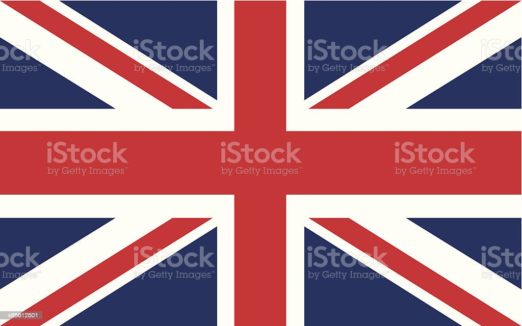 british flag vector vector art illustration