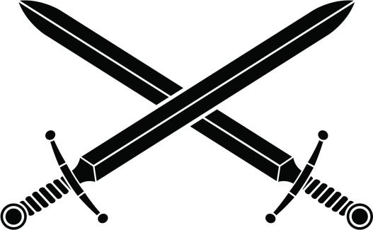 Sword Clip Art, Vector Images & Illustrations - iStock