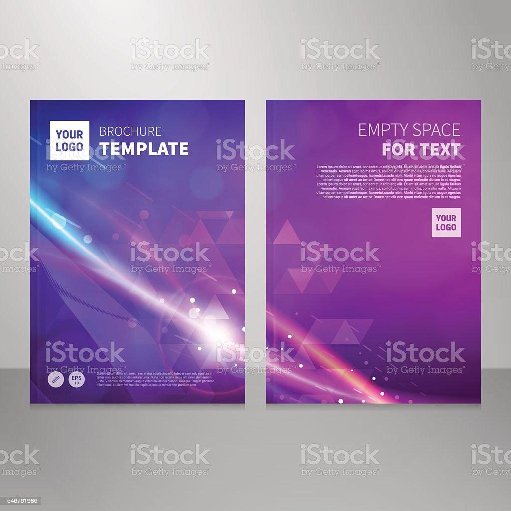 Brochure book abstract vector background design template vector art illustration