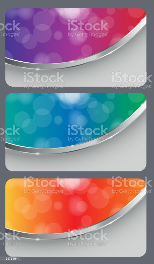 Brochure business card banner abstract background style. royalty-free stock vector art