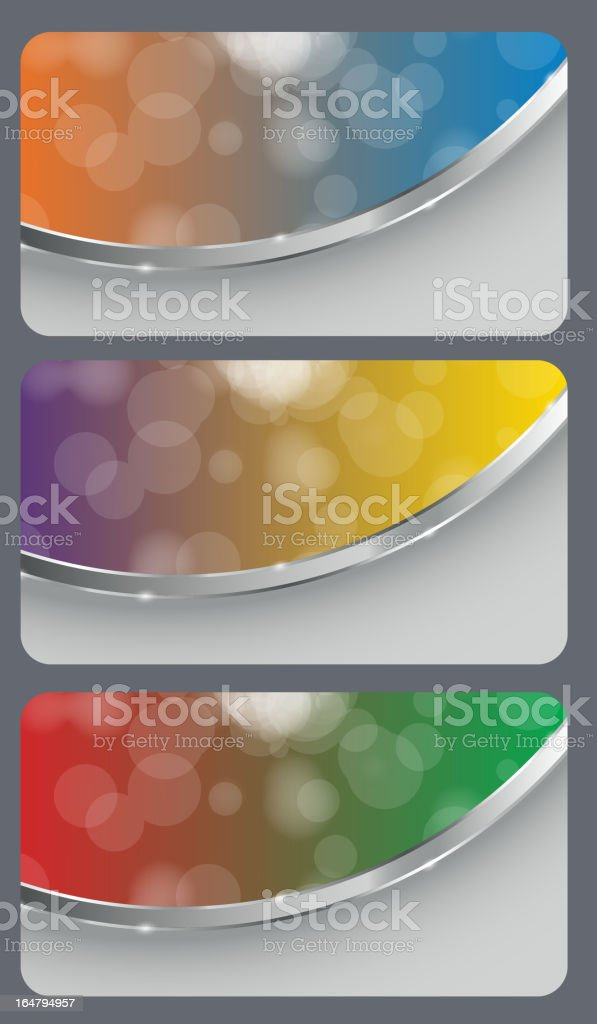Brochure business card banner abstract background style. vector illustration royalty-free stock vector art
