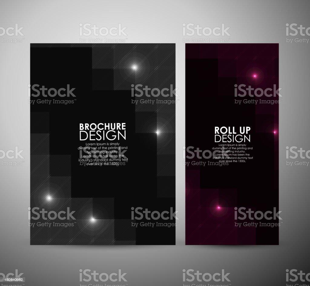 Diseño Folleto Fondo De Negocios Abstractos Diseño De Plantilla O ...