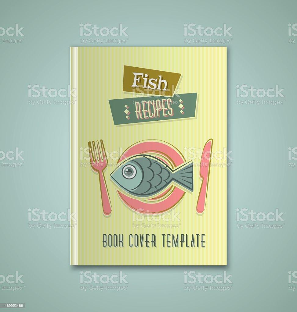Brochure cover template vector art illustration