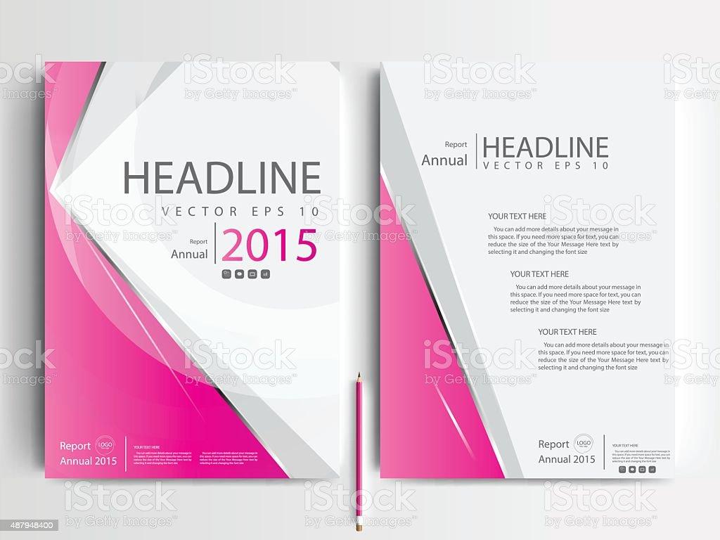 Brochure Design Templates Layout Vector Illustration Stock