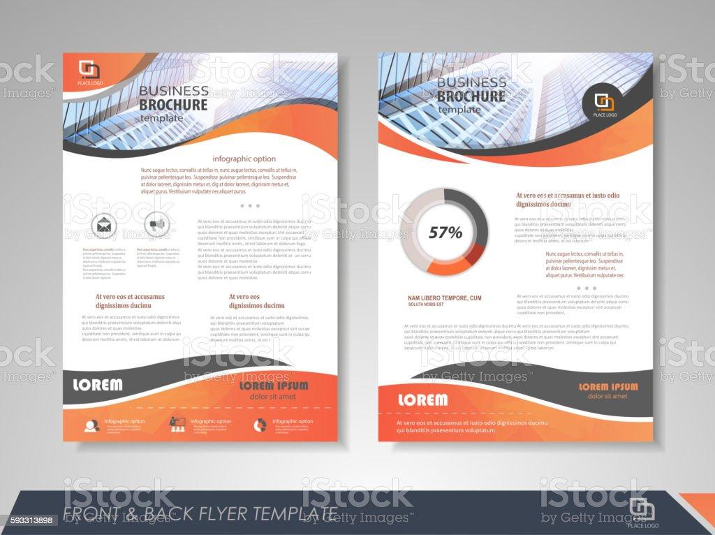 Brochure design royalty-free stock vector art