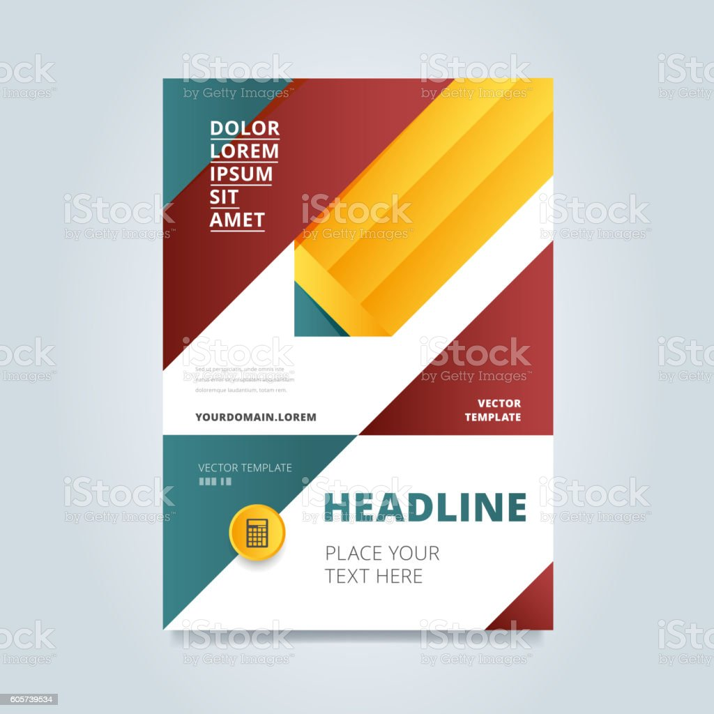 brochure layout design vector illustration stock vector art brochure layout design vector illustration royalty stock vector art