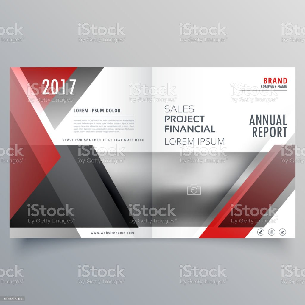brochure magazine cover page template layout in red and black brochure magazine cover page template layout in red and black royalty stock vector art