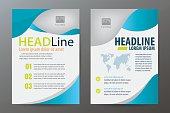 Brochure template design,flyer,booklet,report cover,A4 vertical
