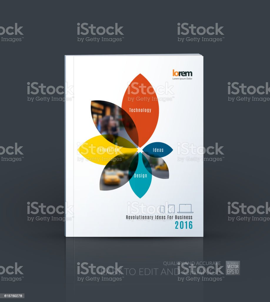 brochure template layout collection cover design annual report 1 credit