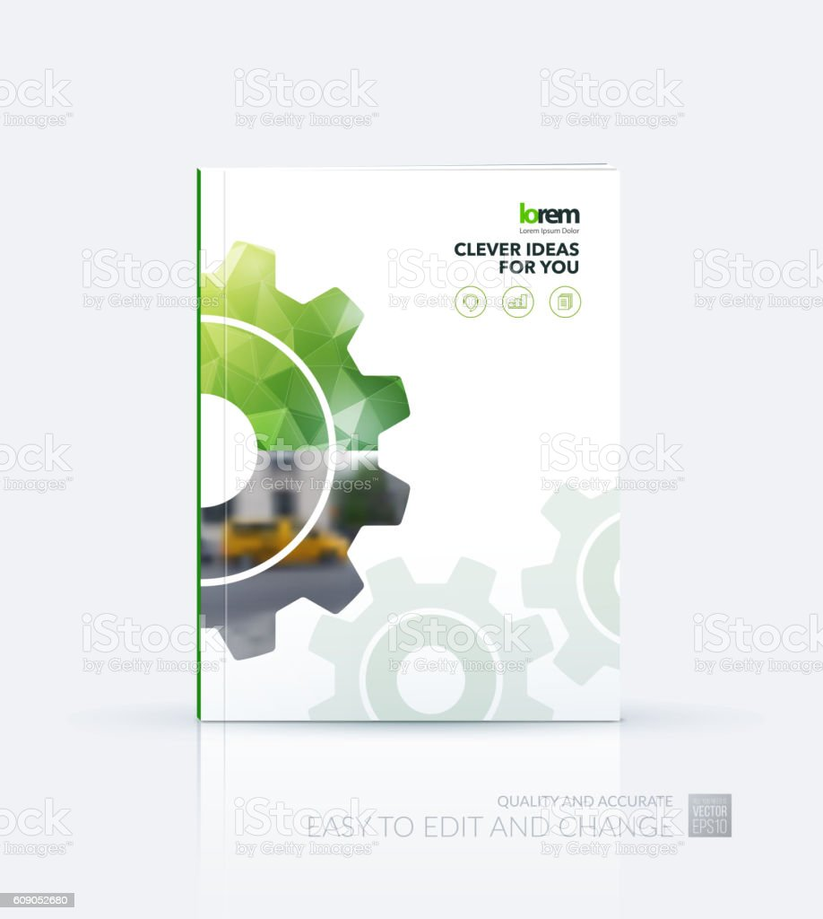 Cover design annual report magazine royalty free stock vector art - Brochure Template Layout Cover Design Annual Report Flyer Lea Royalty Free Stock