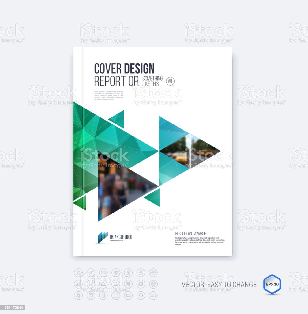 Cover design annual report magazine royalty free stock vector art - Brochure Template Layout Cover Design Annual Report Magazine O Royalty Free Stock Vector
