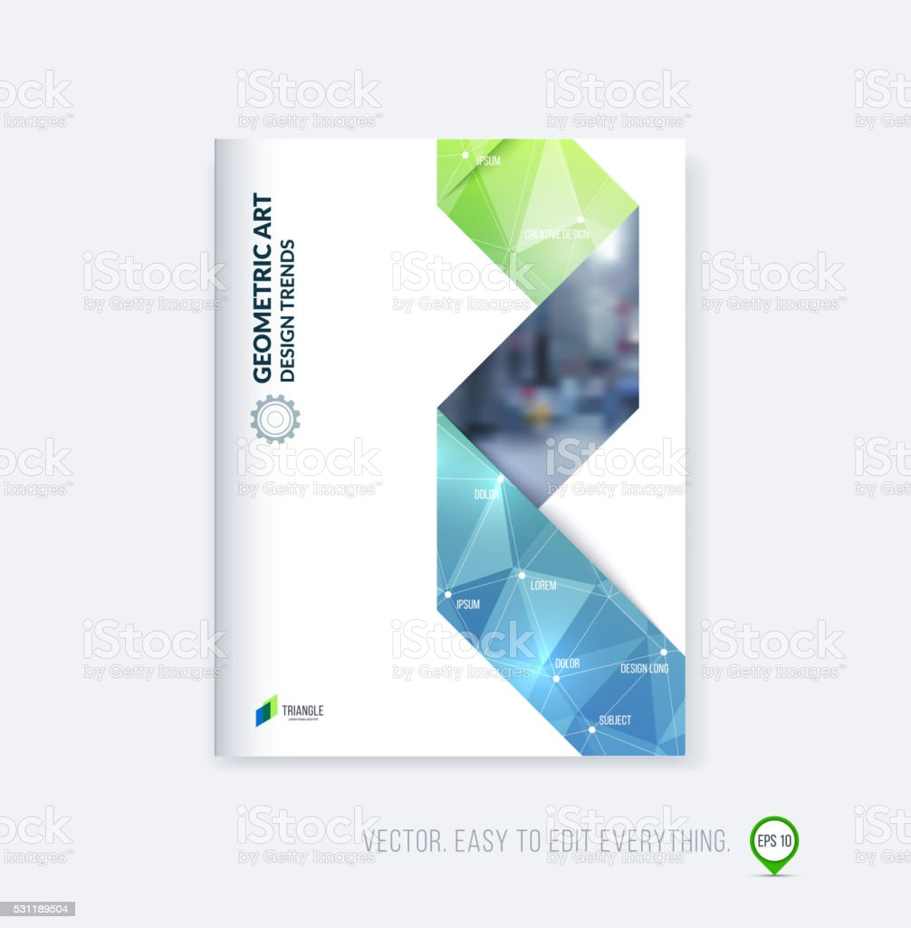 Cover design annual report magazine royalty free stock vector art - Abstract Advertisement Art Art And Craft Blue Brochure Template Layout Cover Design Annual Report Magazine Royalty Free Stock