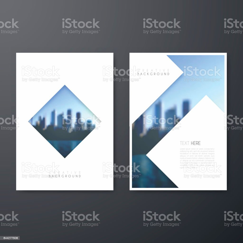 Cover design annual report magazine royalty free stock vector art - Brochure Template Layout Cover Design Business Annual Report Flyer Magazine Royalty