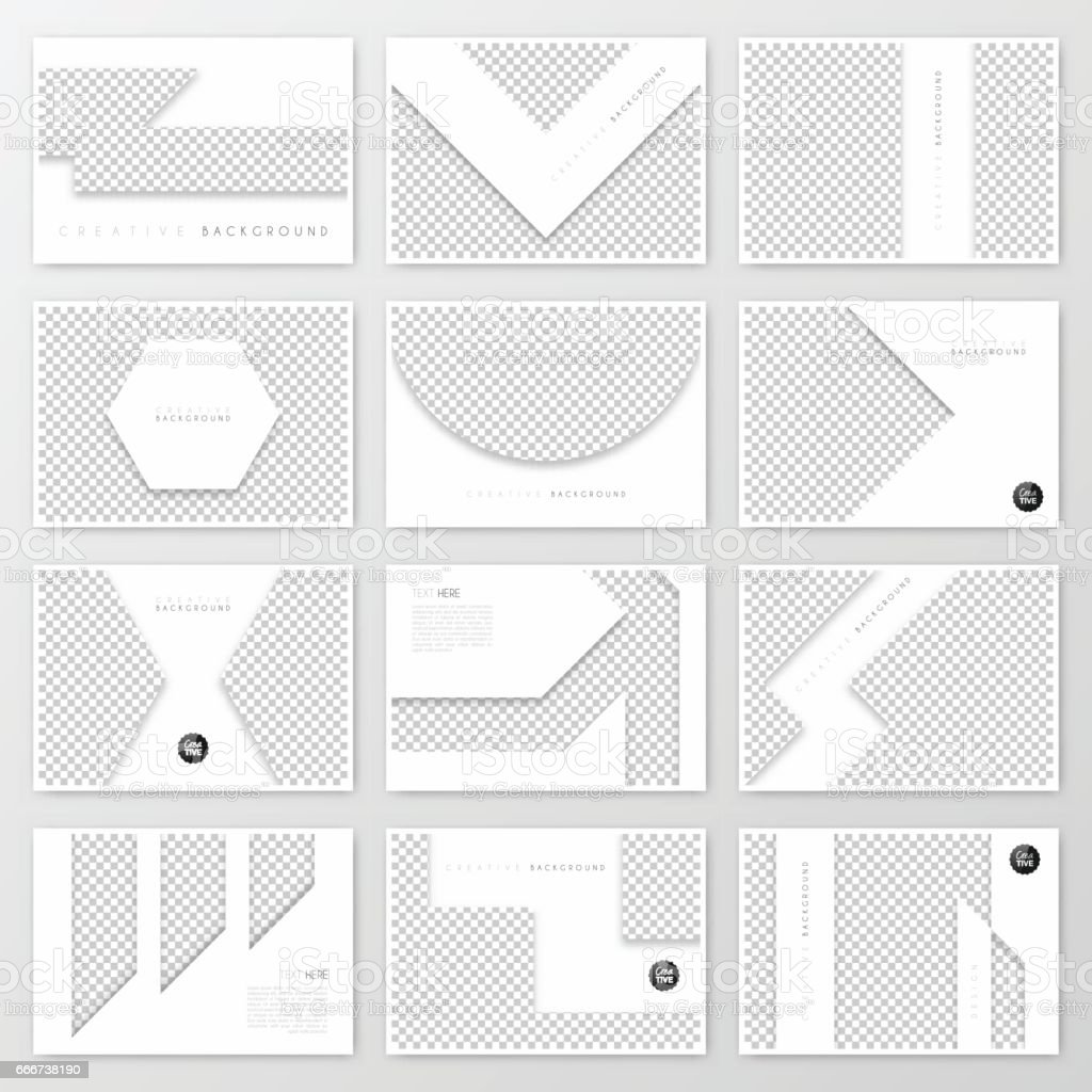 Brochure template layout, cover design, business annual report, flyer, magazine vector art illustration