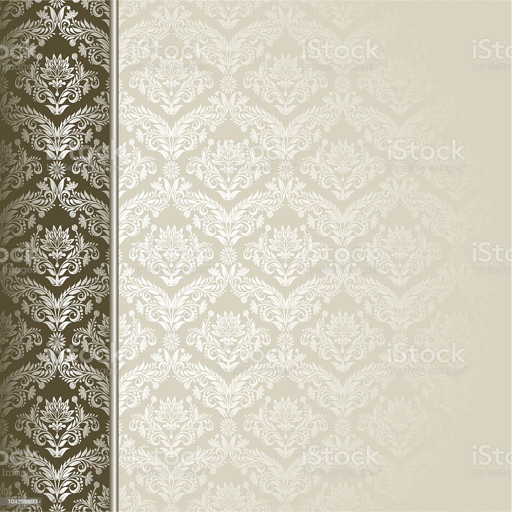 Brown and beige background royalty-free stock vector art