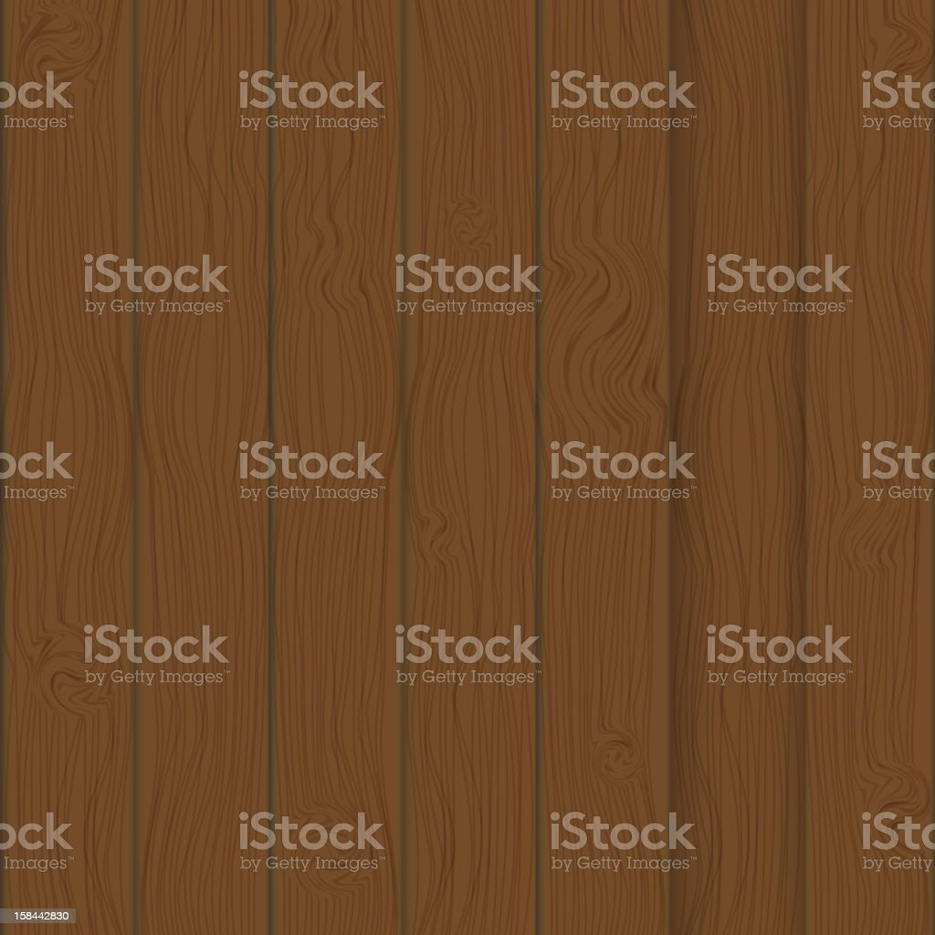 Brown boards Background  vector Illustration. royalty-free stock vector art