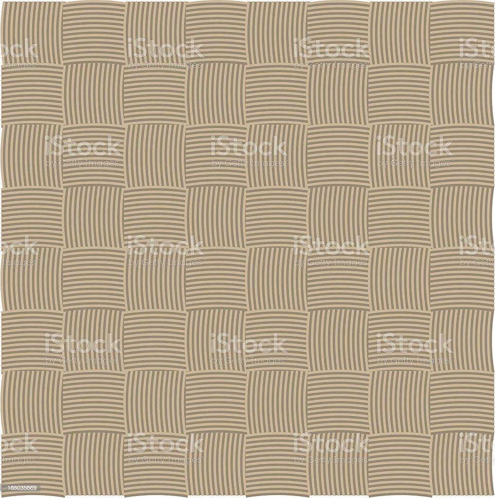 Brown Checker Weave (vector) royalty-free stock vector art