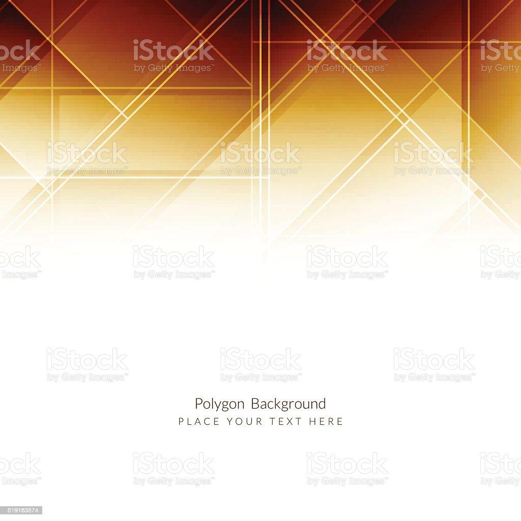 Brown color modern background design. vector art illustration