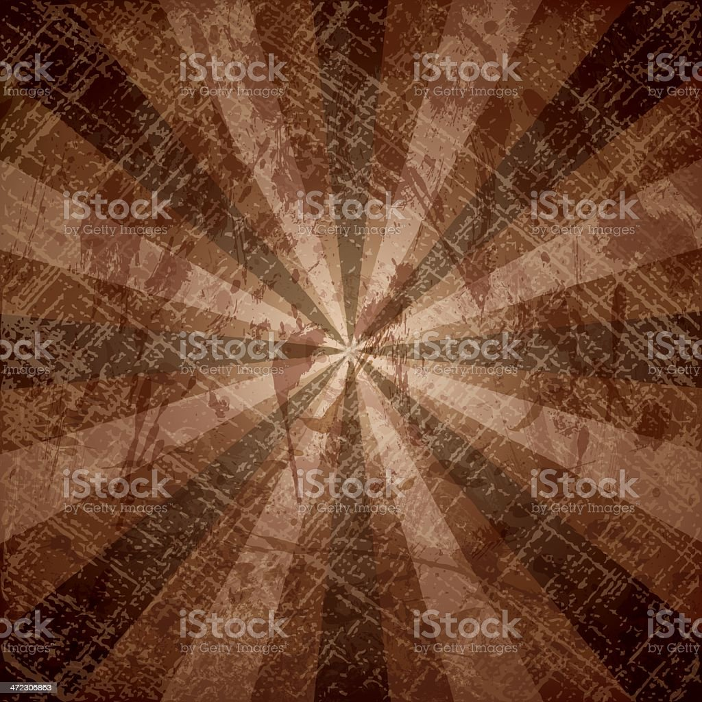brown grunge background royalty-free stock vector art