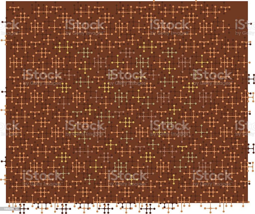 Brown Jaxx Pattern royalty-free stock vector art