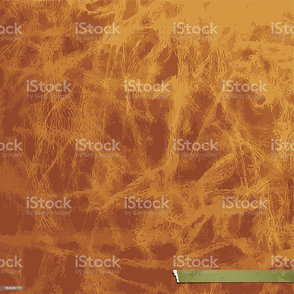 Brown leather cover book background royalty-free stock vector art