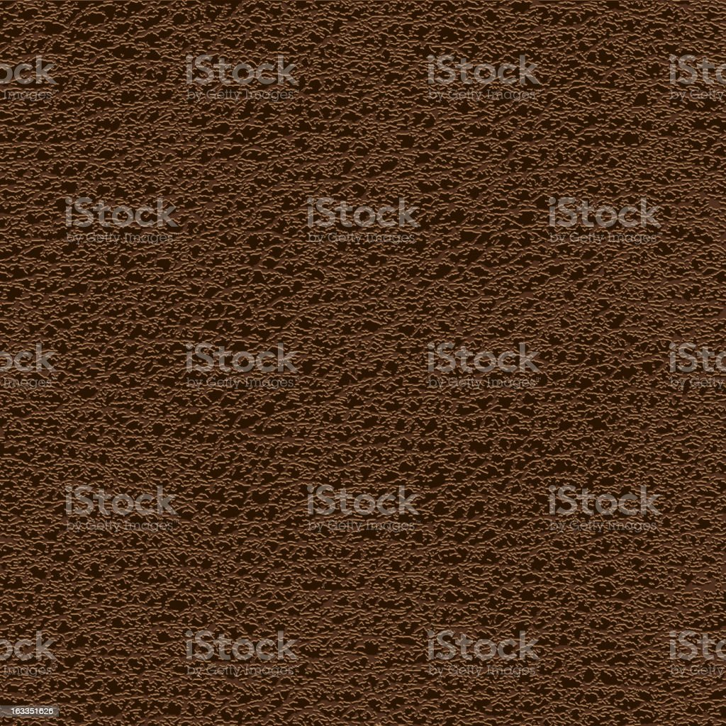 Brown leather royalty-free stock vector art