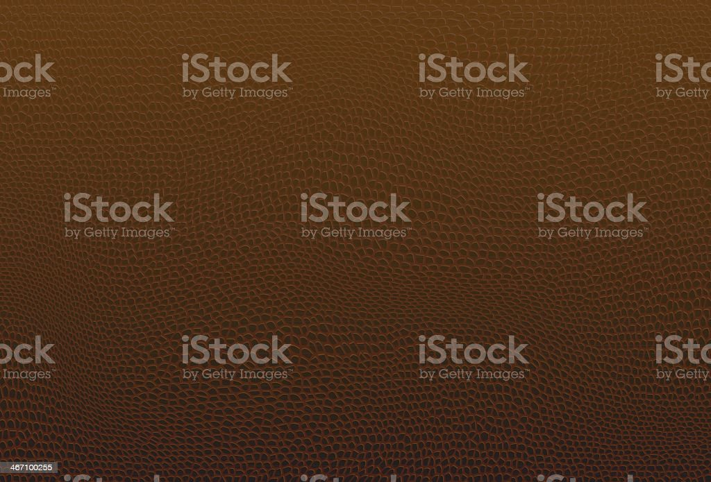 Brown leather vector art illustration
