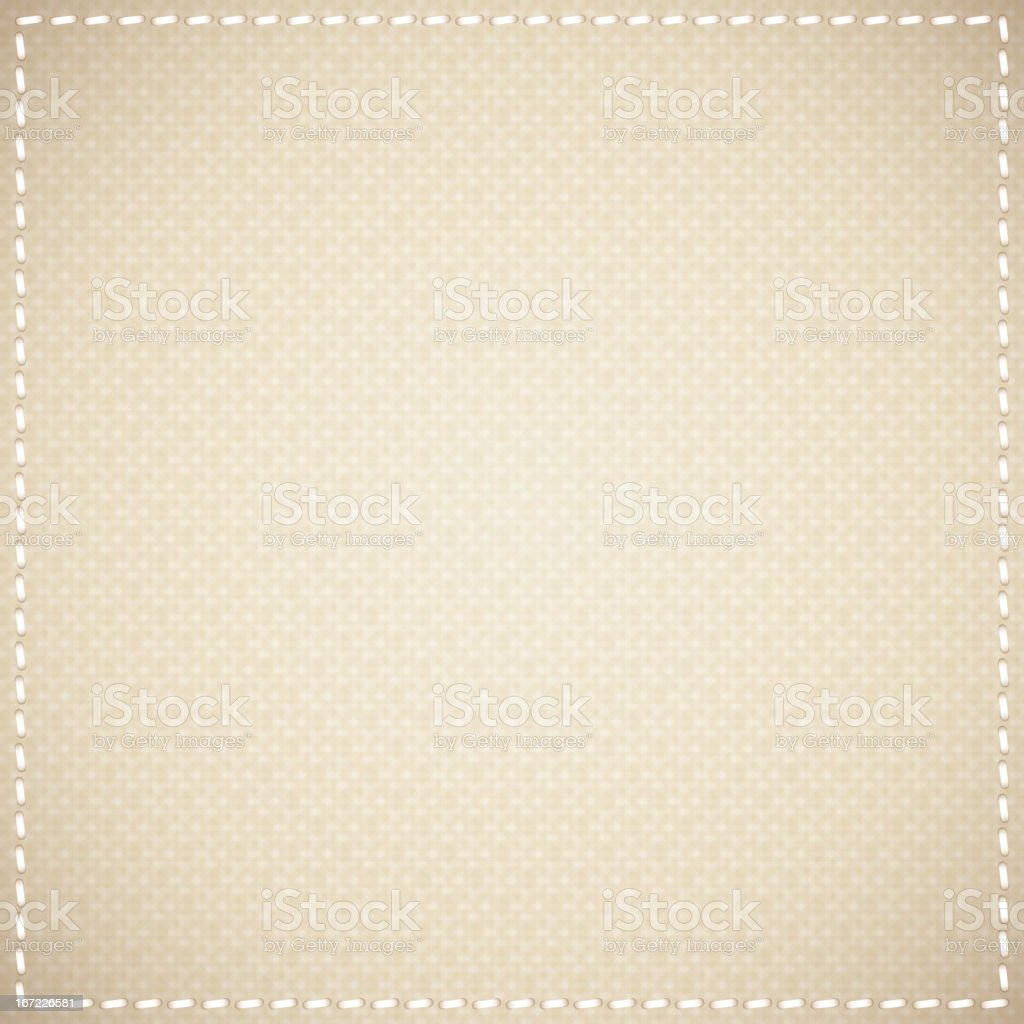 Brown sacking paper background royalty-free stock vector art