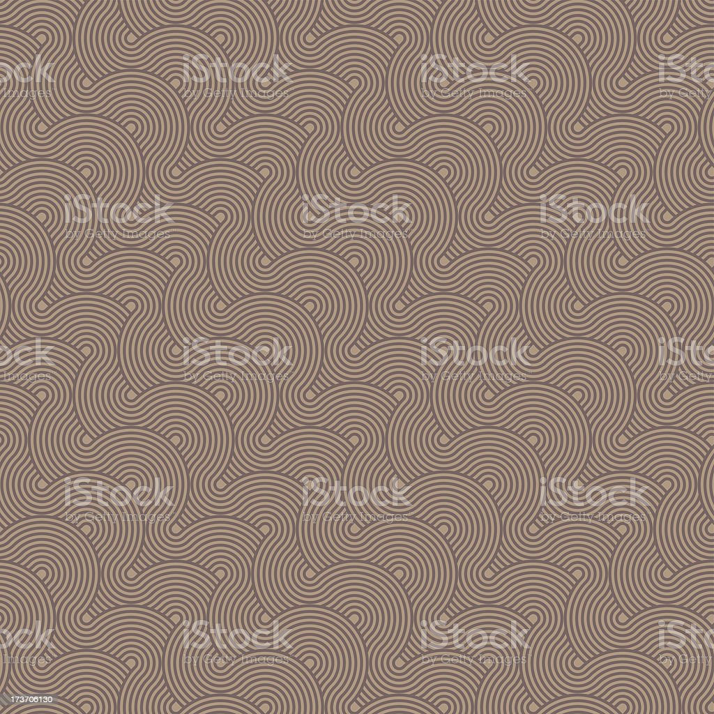 brown seamless circles pattern royalty-free stock vector art
