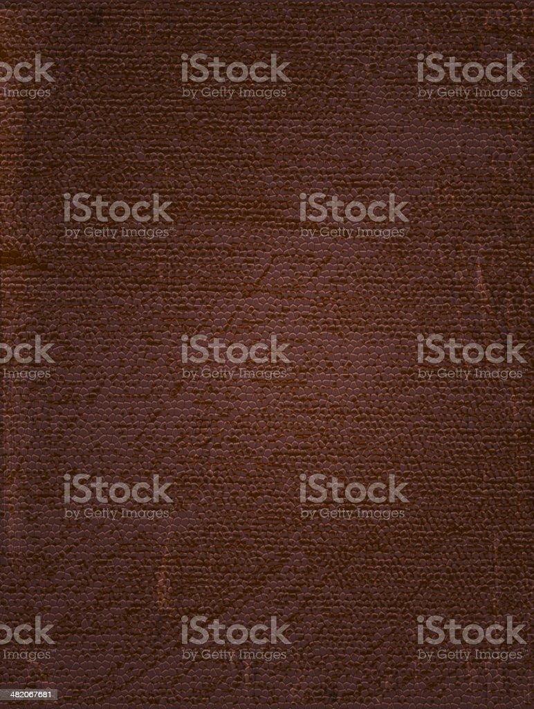Brown vintage leather background vector art illustration