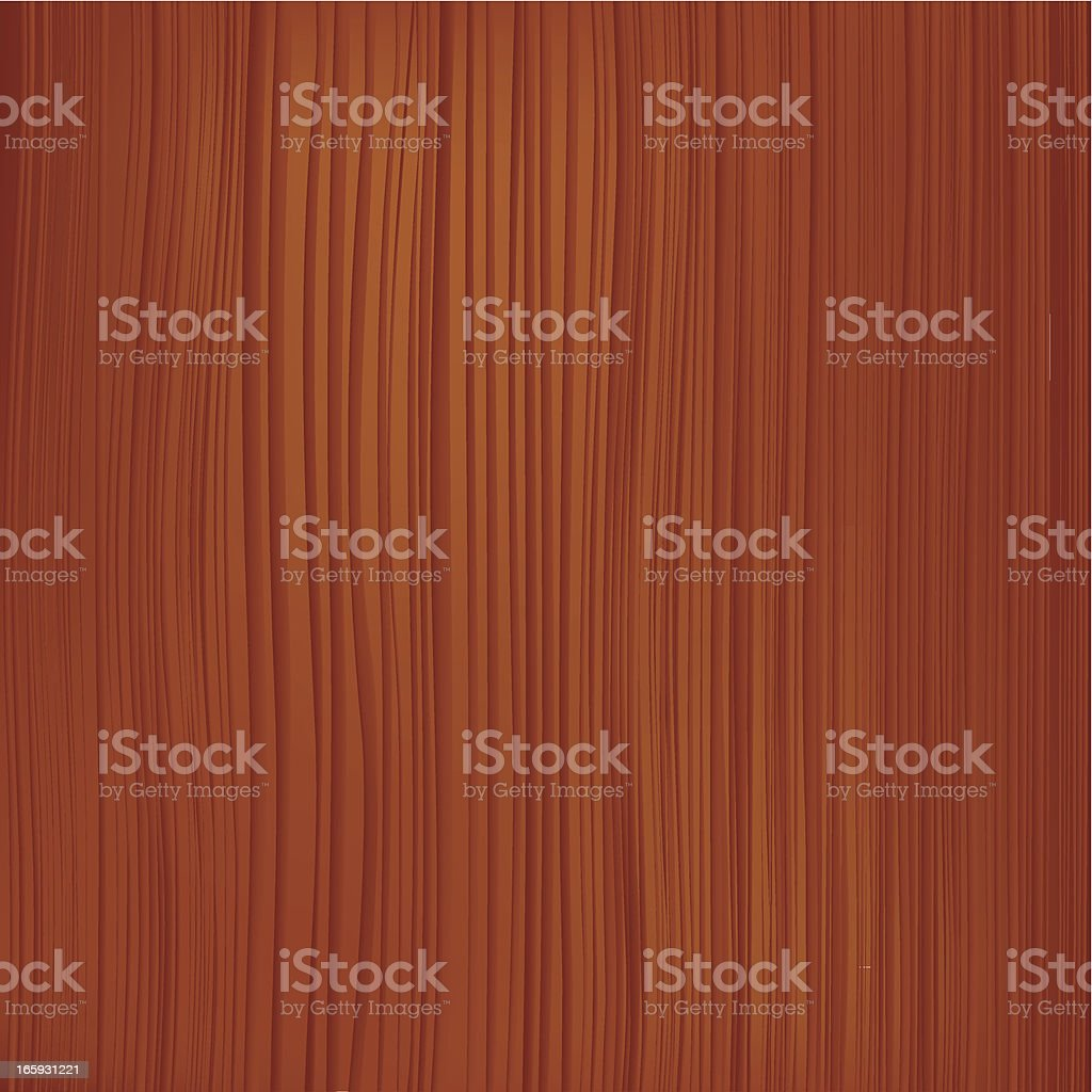 Brown wooden texture with hints of red vector art illustration