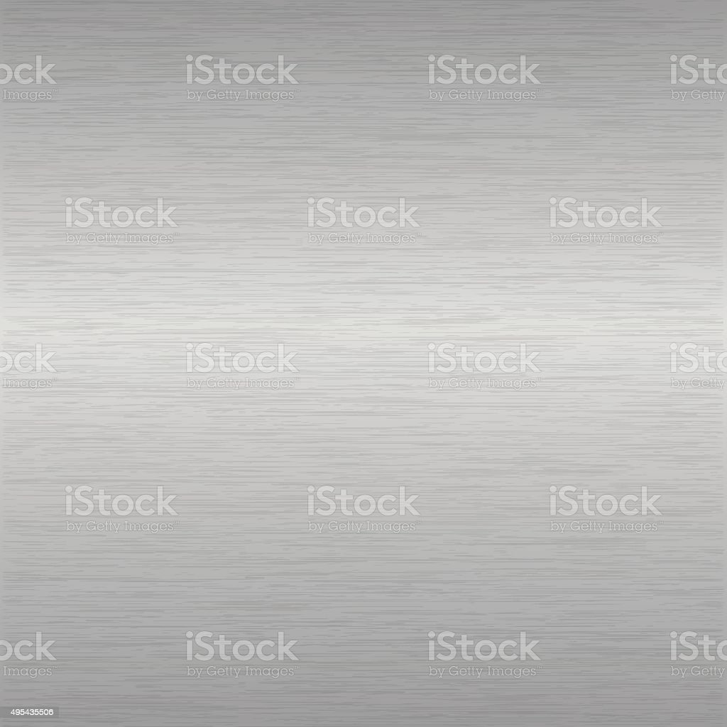 brushed aluminium surface vector art illustration