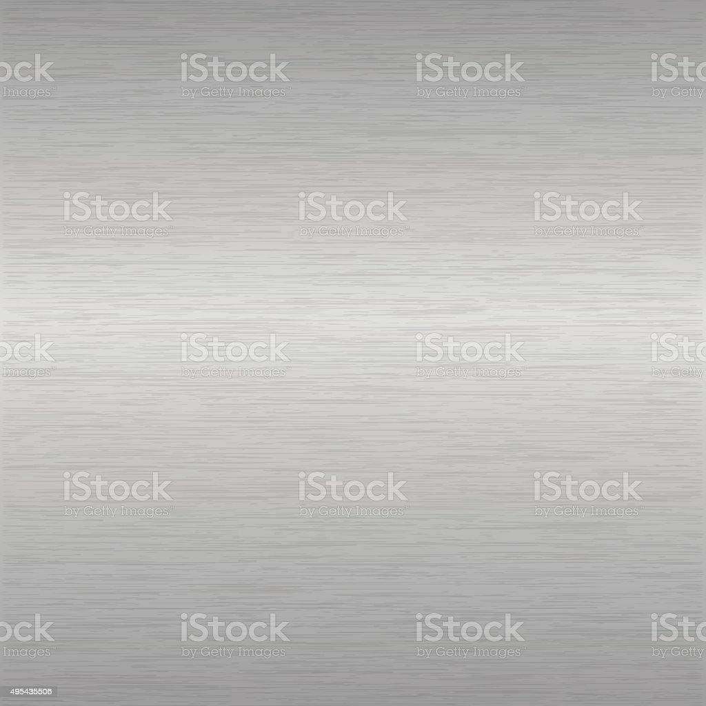 brushed aluminium surface vector art illustration