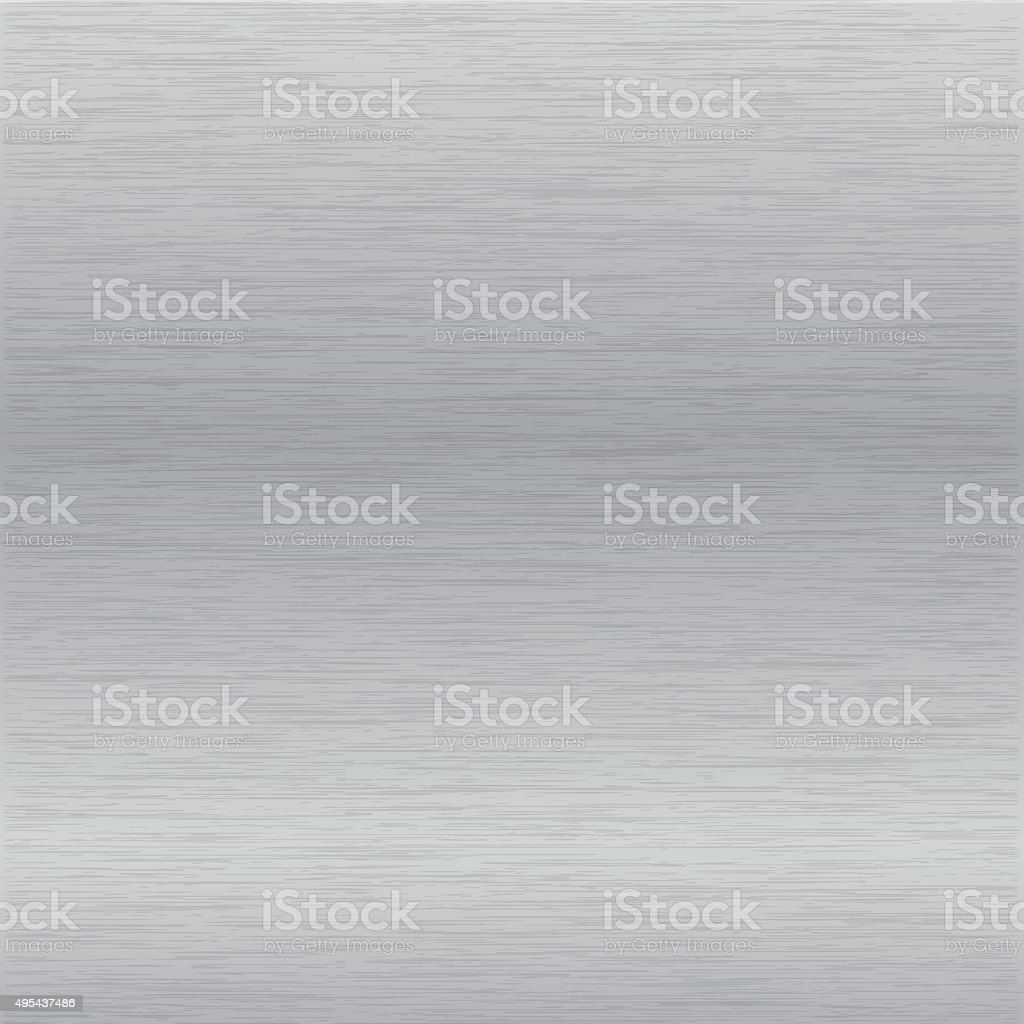 brushed chrome surface vector art illustration
