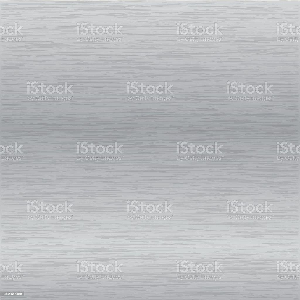 brushed chrome surface vector art illustration