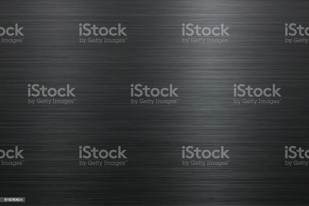 Brushed metal background vector art illustration