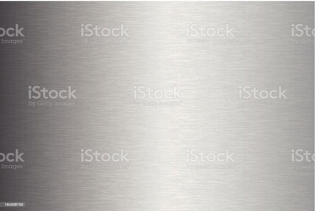 Brushed Metal Texture royalty-free stock vector art