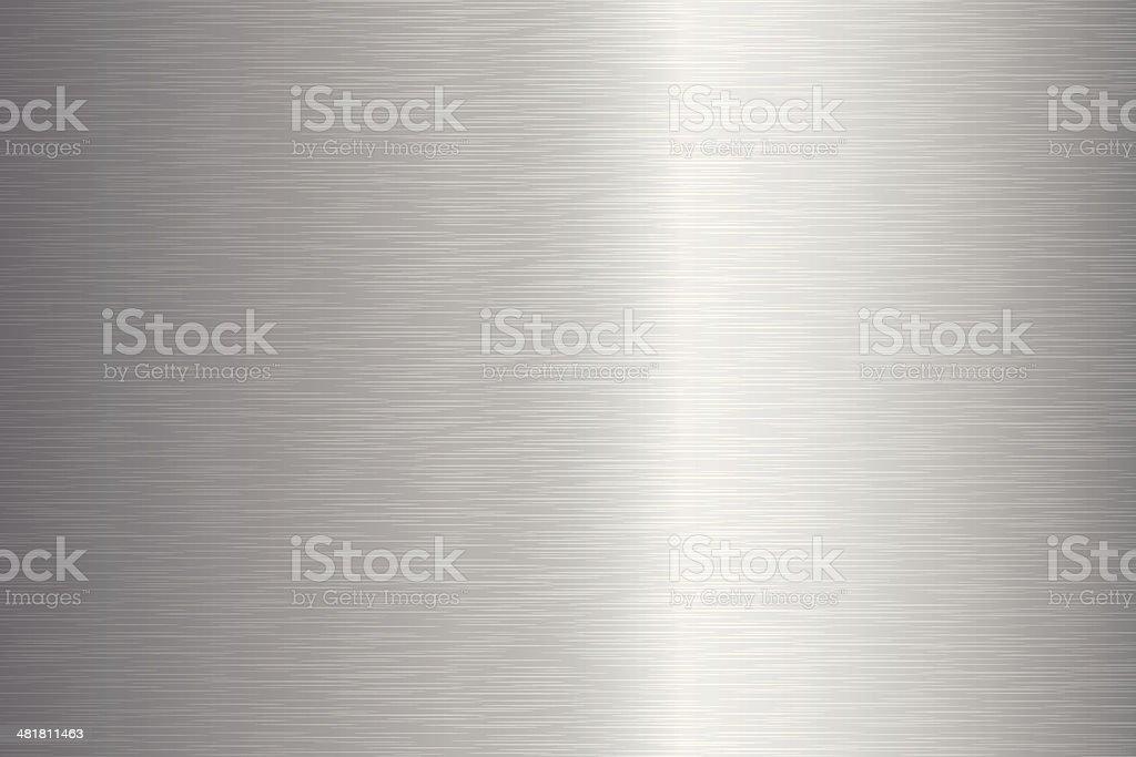 Brushed Metal Texture vector art illustration