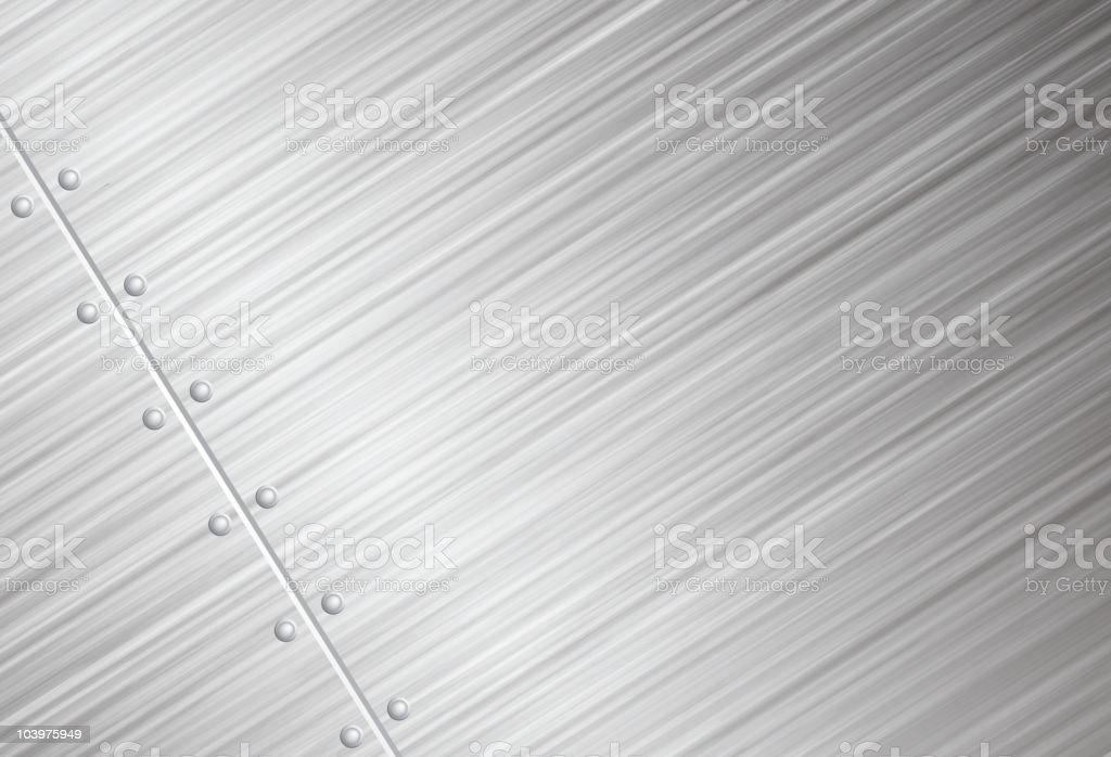 Brushed metal vector background royalty-free stock vector art