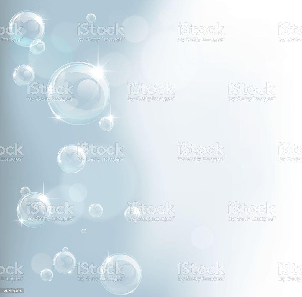 Bubble Backgound vector art illustration