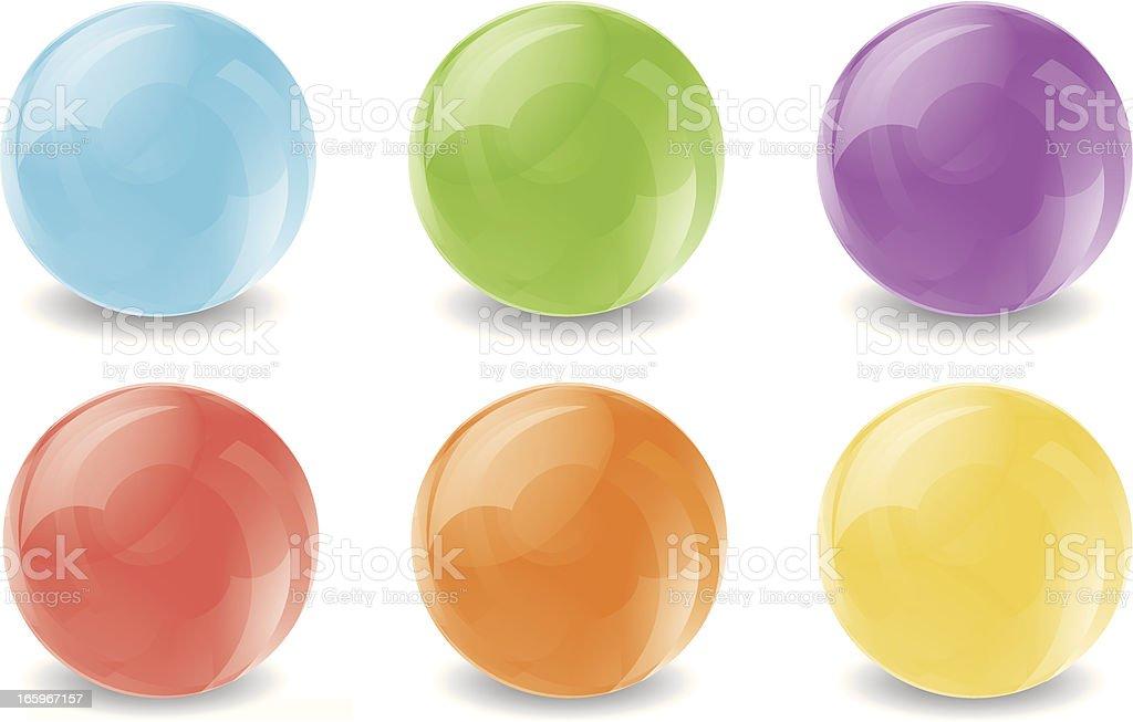 bubble colour royalty-free stock vector art