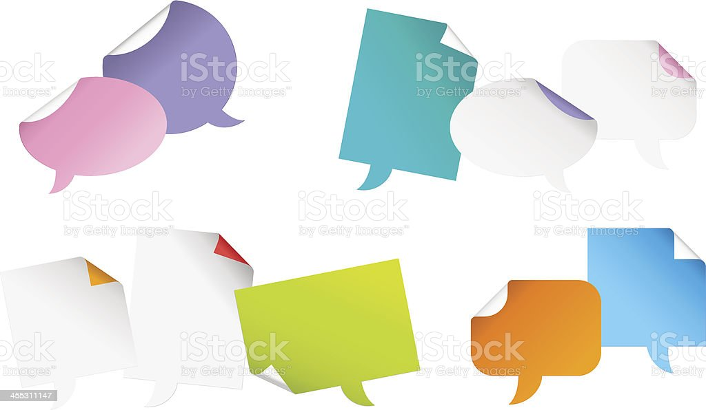 Bubbles Paper #3 royalty-free stock vector art