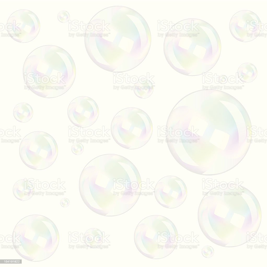 Bubbles royalty-free stock vector art