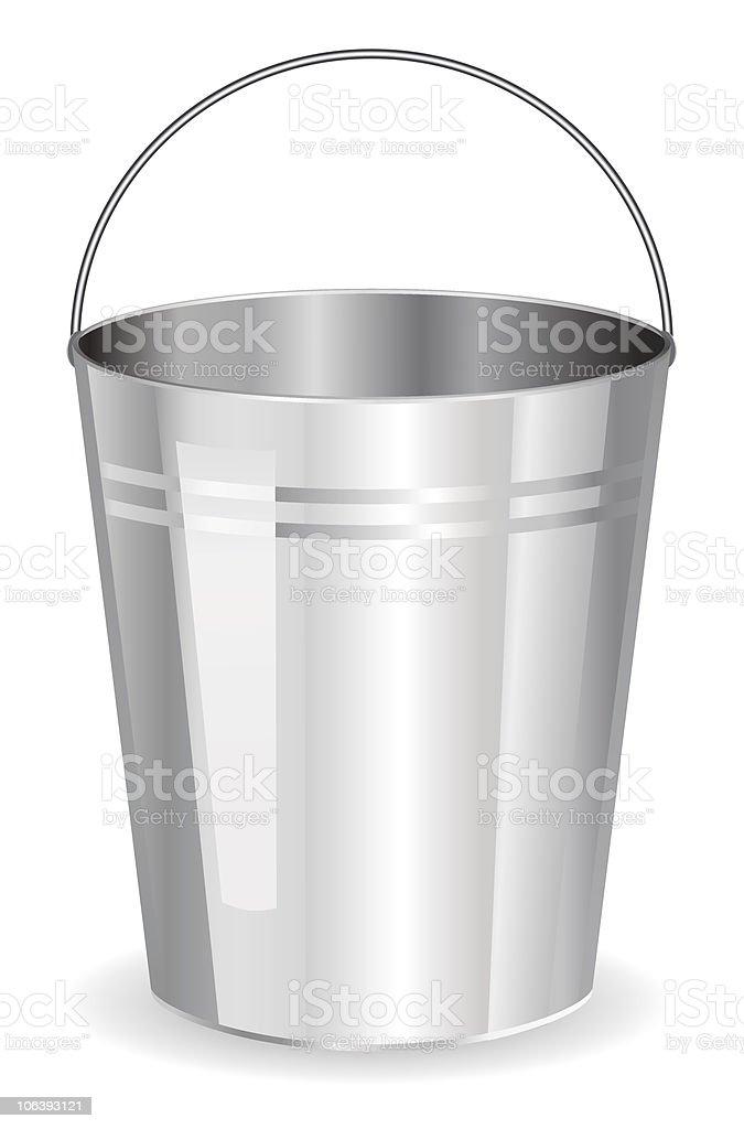 Bucket royalty-free stock vector art