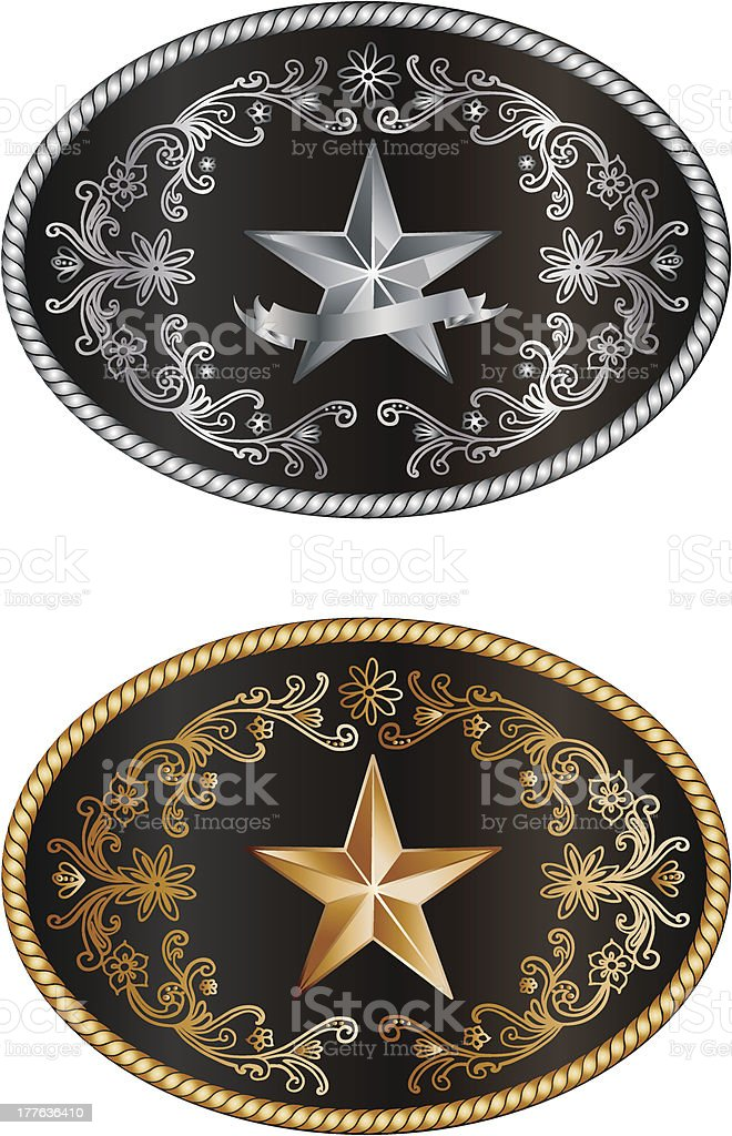 Buckle vector art illustration