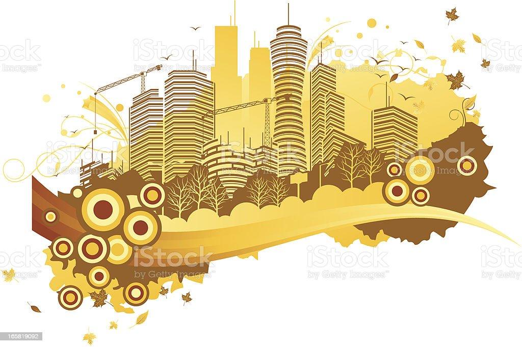 build city royalty-free stock vector art