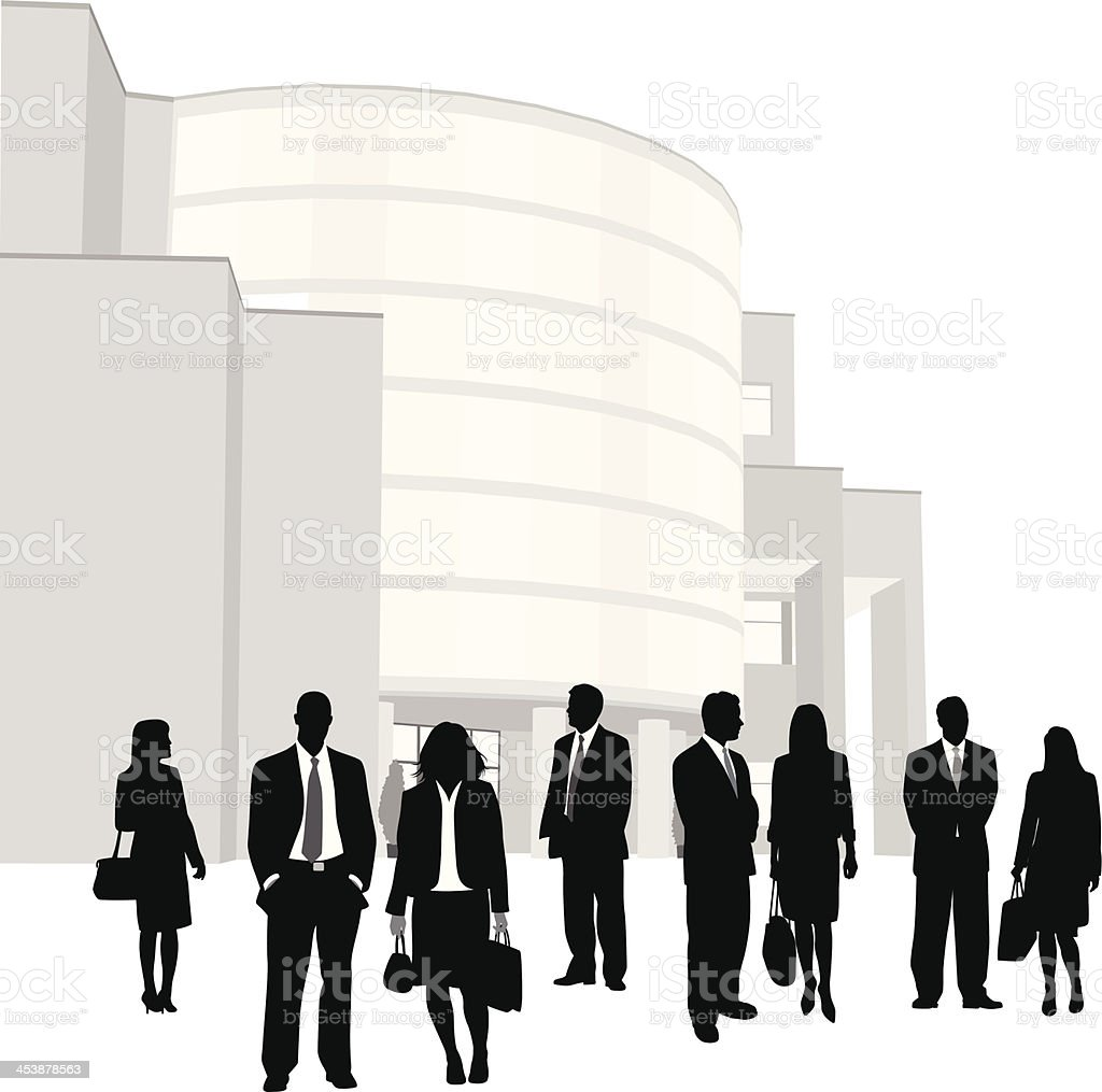 Building Business royalty-free stock vector art