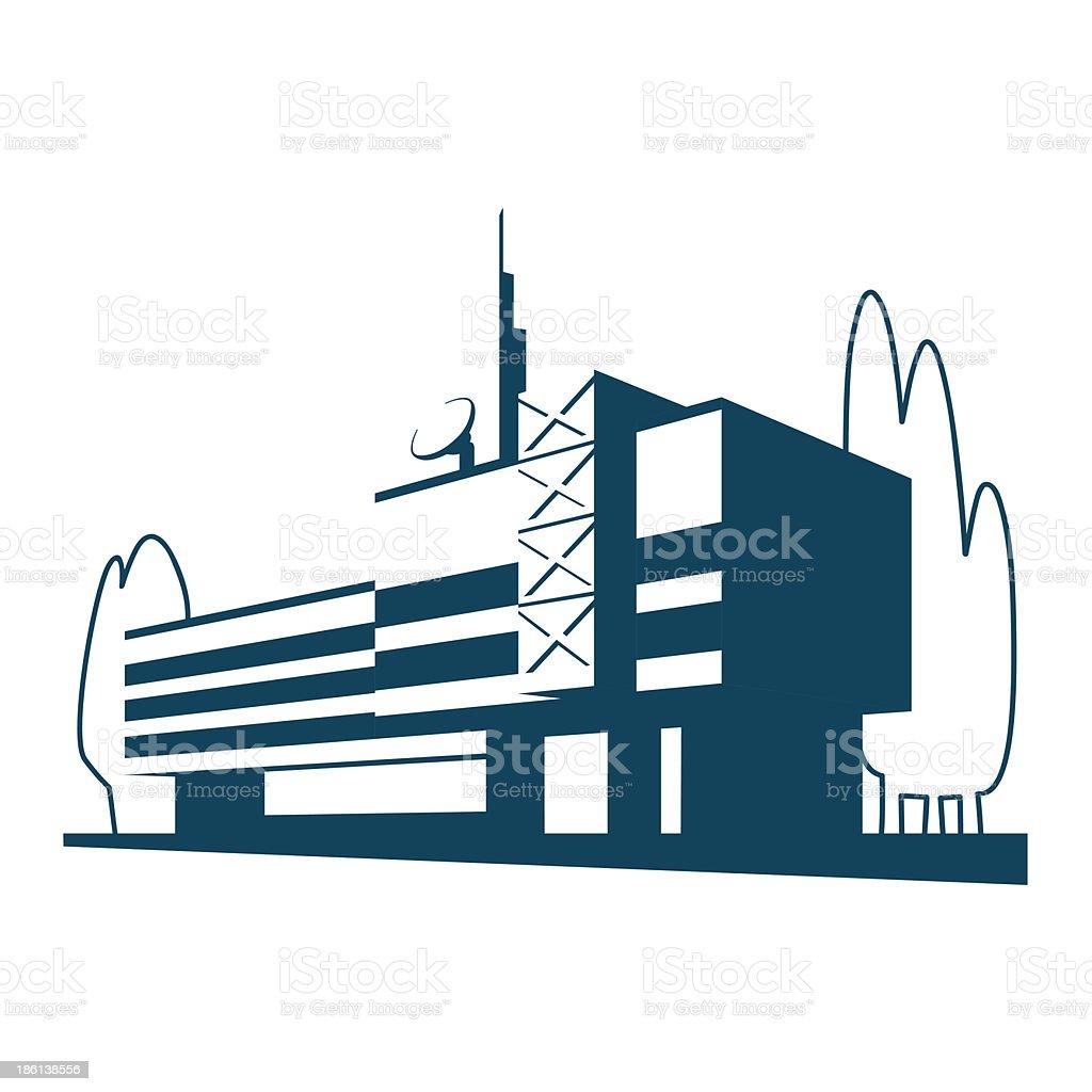 Building Design royalty-free stock vector art